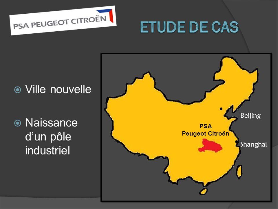 Etude de cas Ville nouvelle Naissance d'un pôle industriel Beijing