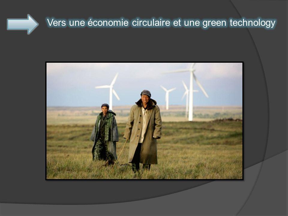 Vers une économie circulaire et une green technology