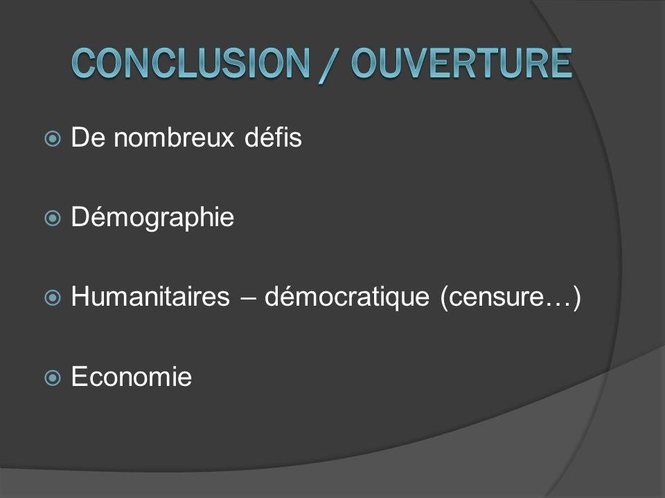 Conclusion / Ouverture