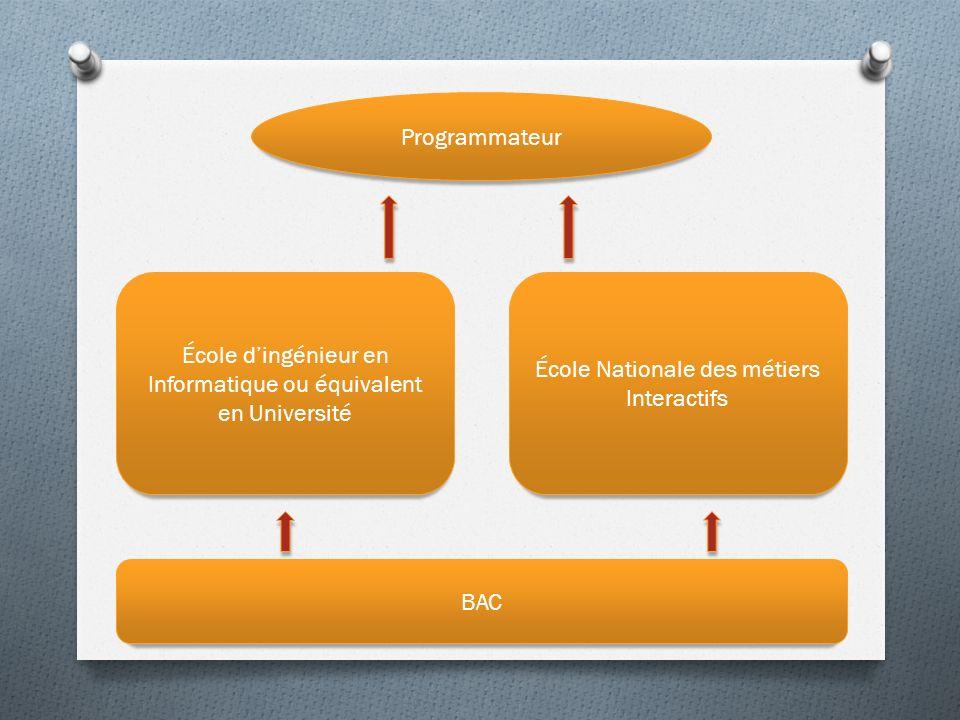 École d'ingénieur en Informatique ou équivalent en Université