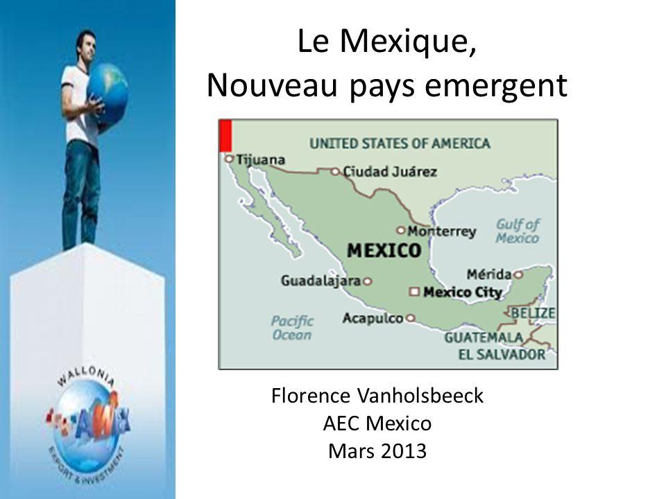 Le Mexique, Nouveau pays emergent