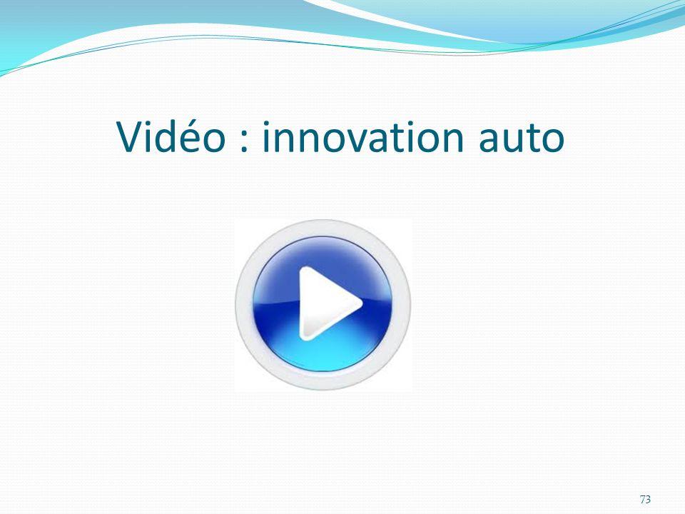 Vidéo : innovation auto