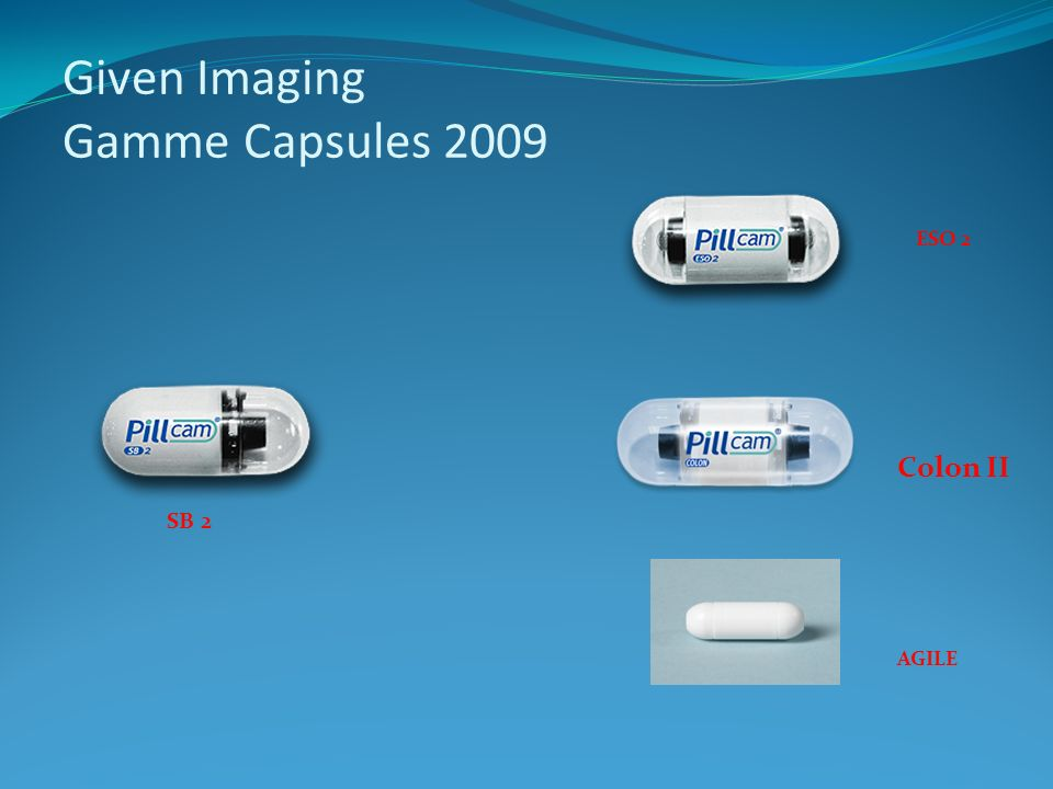 Given Imaging Gamme Capsules 2009