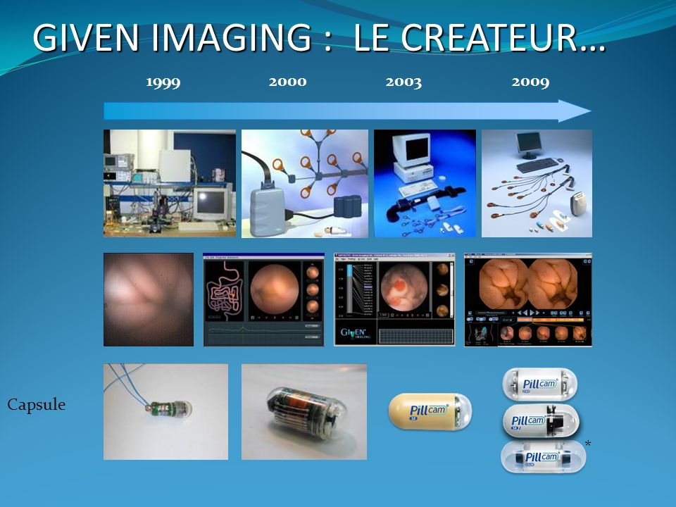 GIVEN IMAGING : LE CREATEUR…