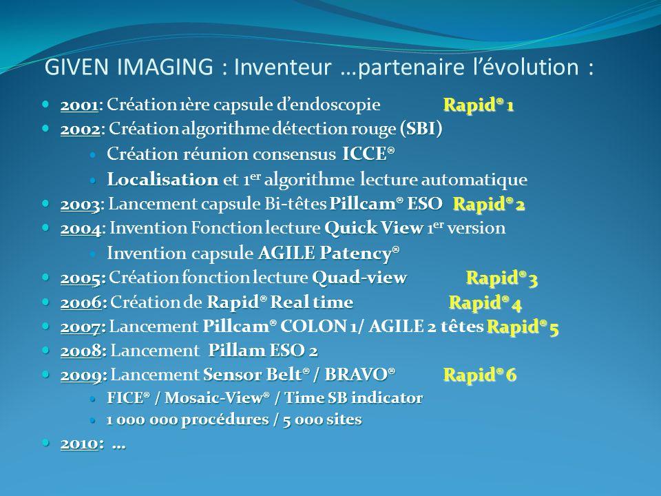 GIVEN IMAGING : Inventeur …partenaire l'évolution :