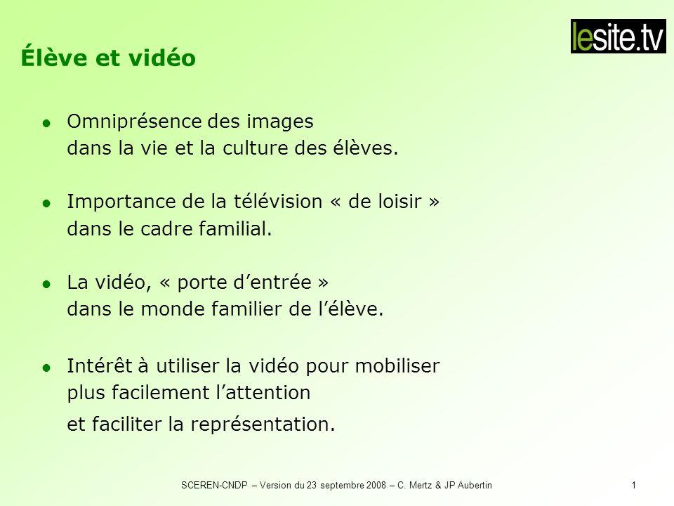 Vidéo et rôle de l'enseignant