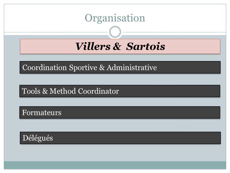 Organisation Villers & Sartois Coordination Sportive & Administrative