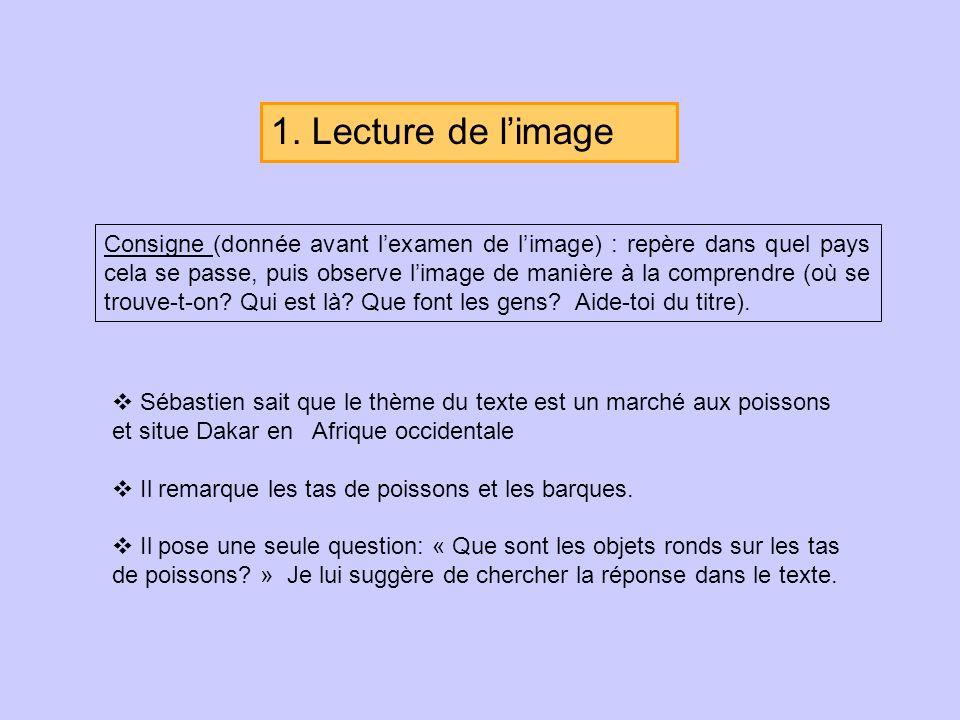 1. Lecture de l'image