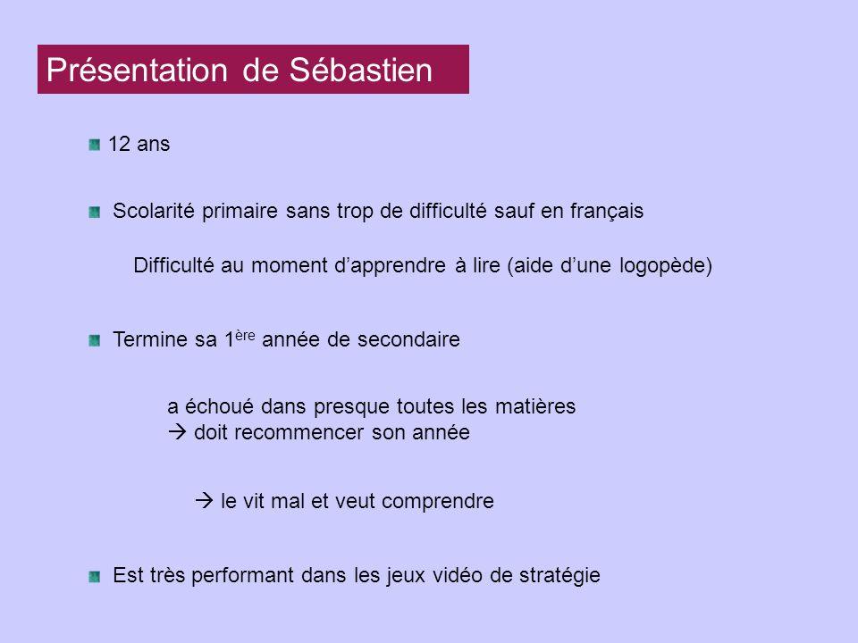 Présentation de Sébastien