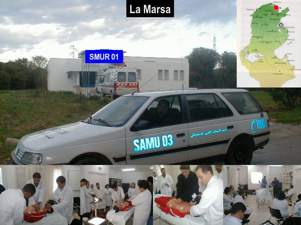 La Marsa SMUR 01 30/03/2017 SAMU / CESU 03