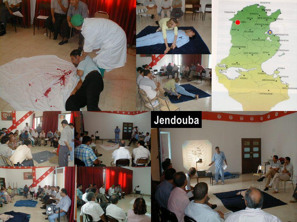 JendoubaFormation dans le gouvernorat de Jendouba au nord-ouest de la Tunisie.