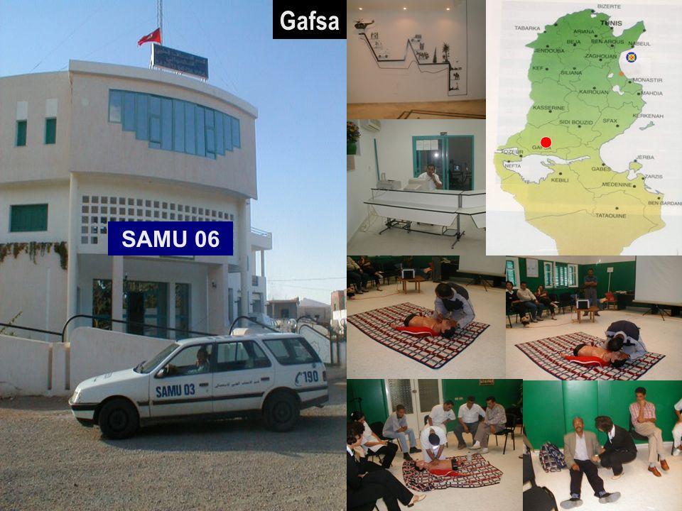 Gafsa SAMU 06 30/03/2017 SAMU / CESU 03