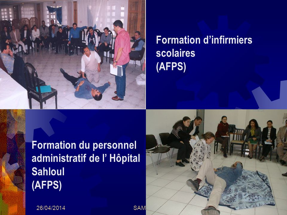 Formation d'infirmiers scolaires (AFPS)