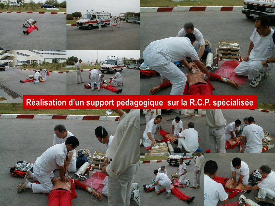 Réalisation d'un support pédagogique sur la R.C.P. spécialisée