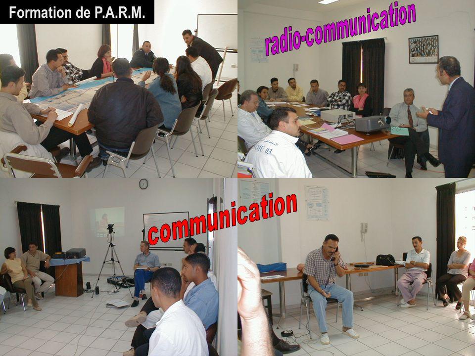 Formation de P.A.R.M. 30/03/2017 SAMU / CESU 03 radio-communication