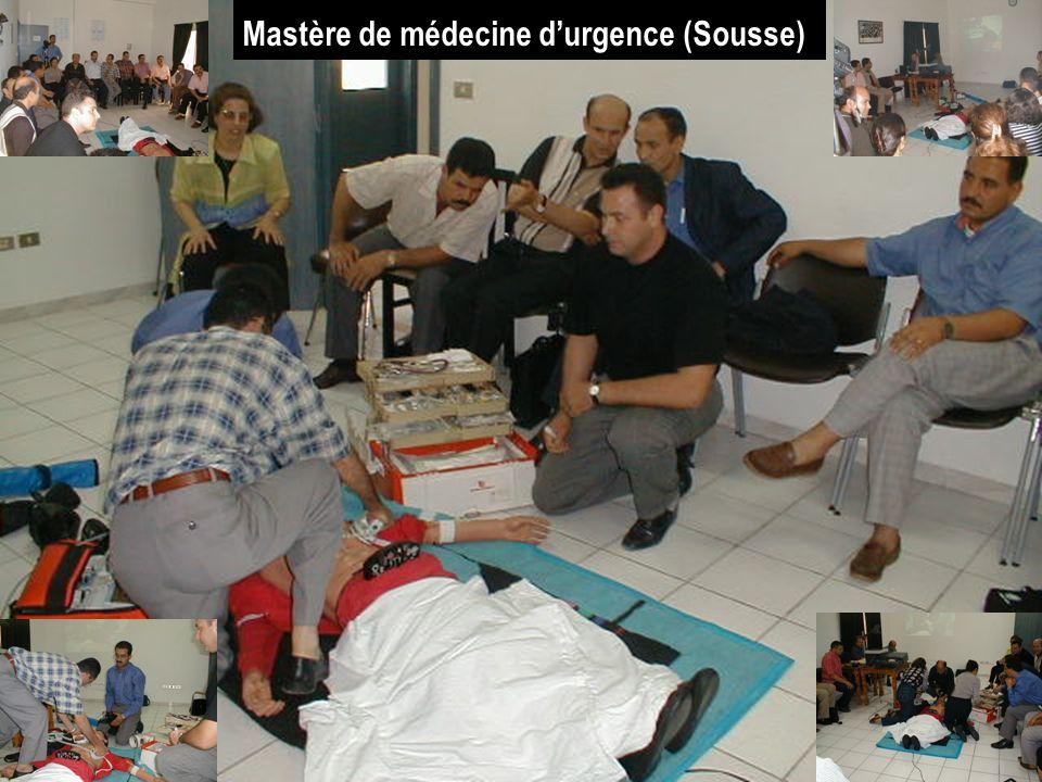 Mastère de médecine d'urgence (Sousse))