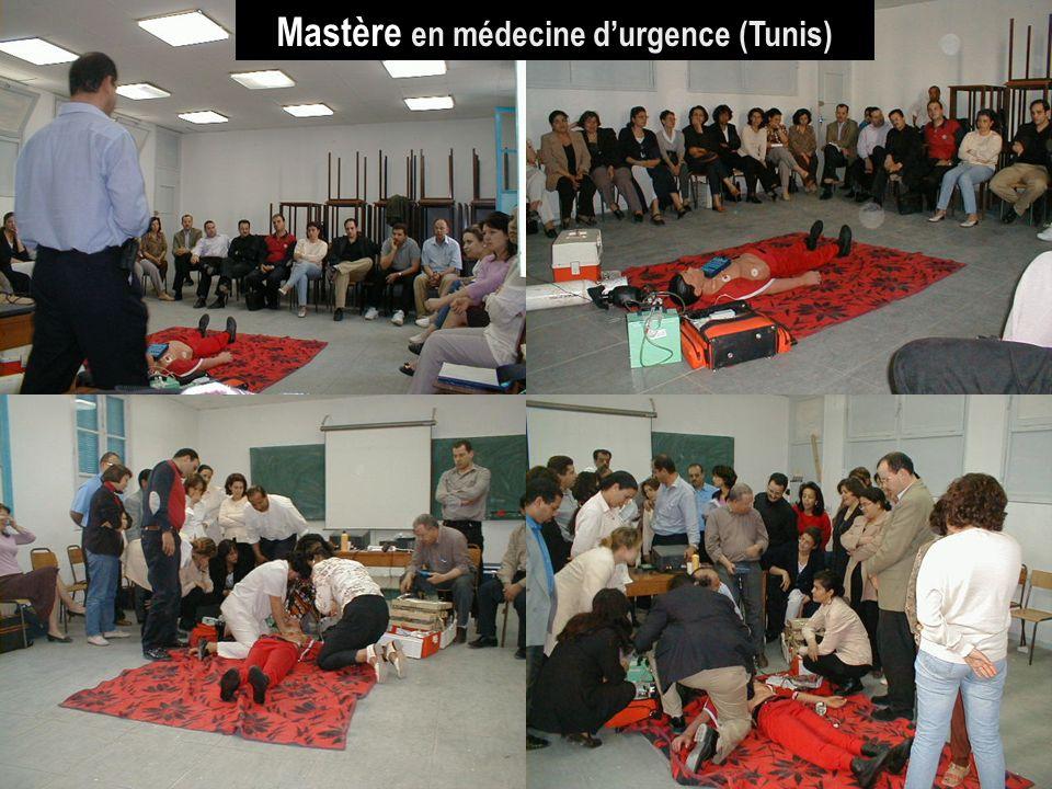 Mastère en médecine d'urgence (Tunis)