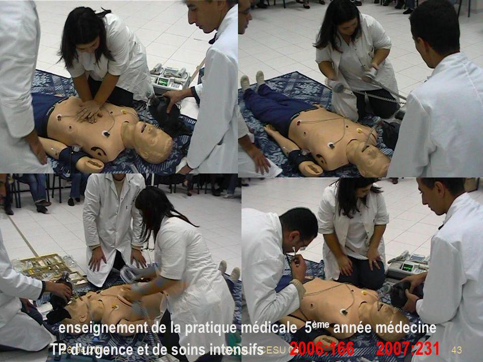 enseignement de la pratique médicale 5ème année médecine