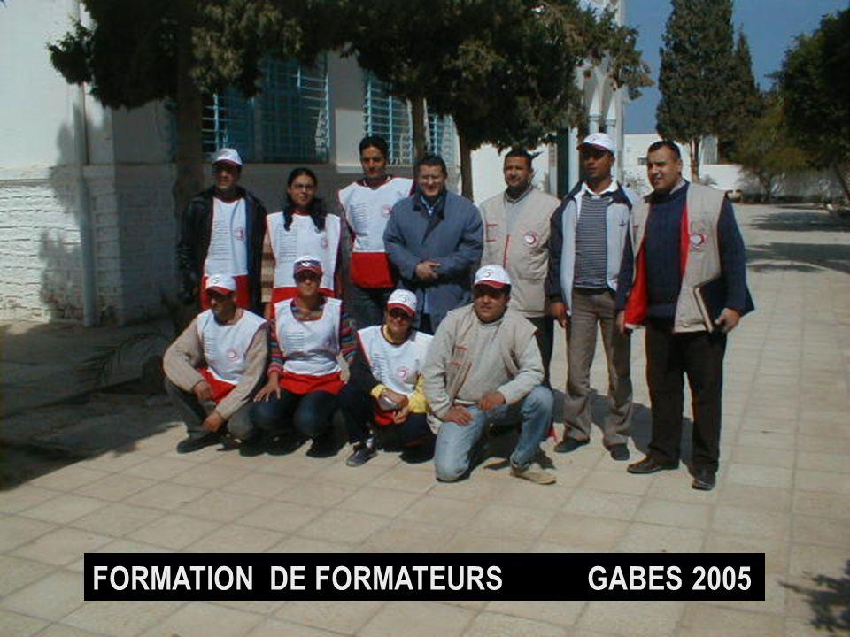 FORMATION DE FORMATEURS GABES 2005