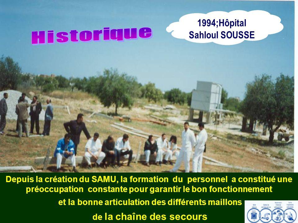 1994;Hôpital Sahloul SOUSSE