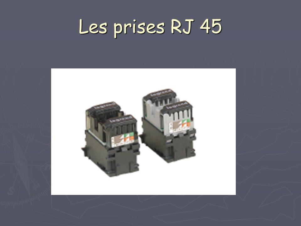 Les prises RJ 45