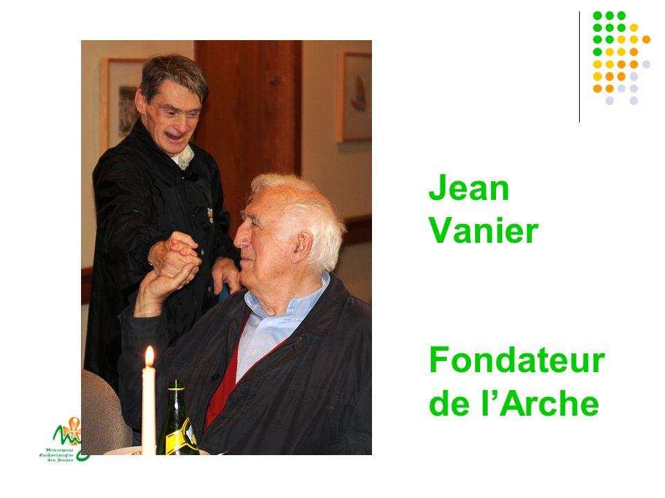 Jean Vanier Fondateur de l'Arche