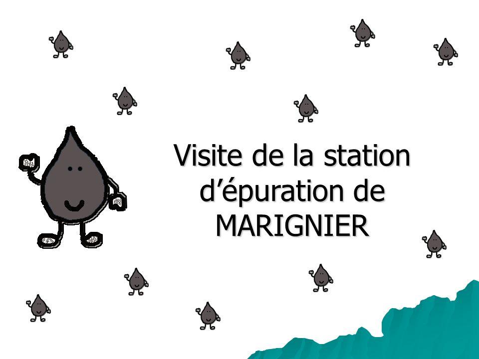 Visite de la station d'épuration de MARIGNIER