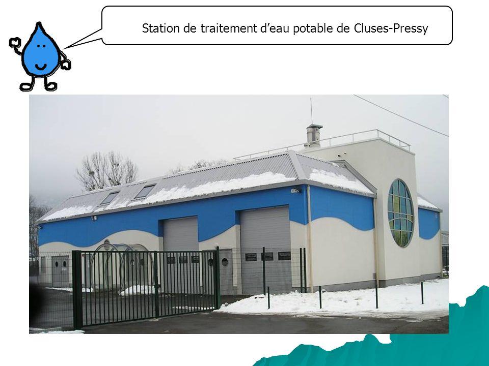 Station de traitement d'eau potable de Cluses-Pressy