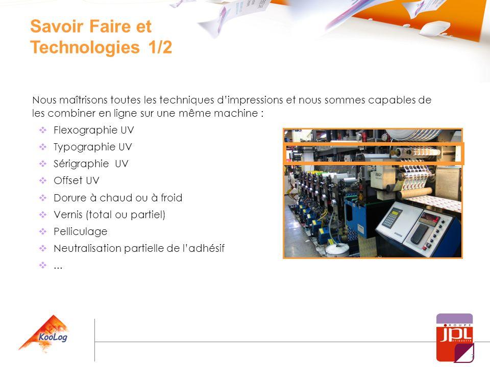 Savoir Faire et Technologies 1/2