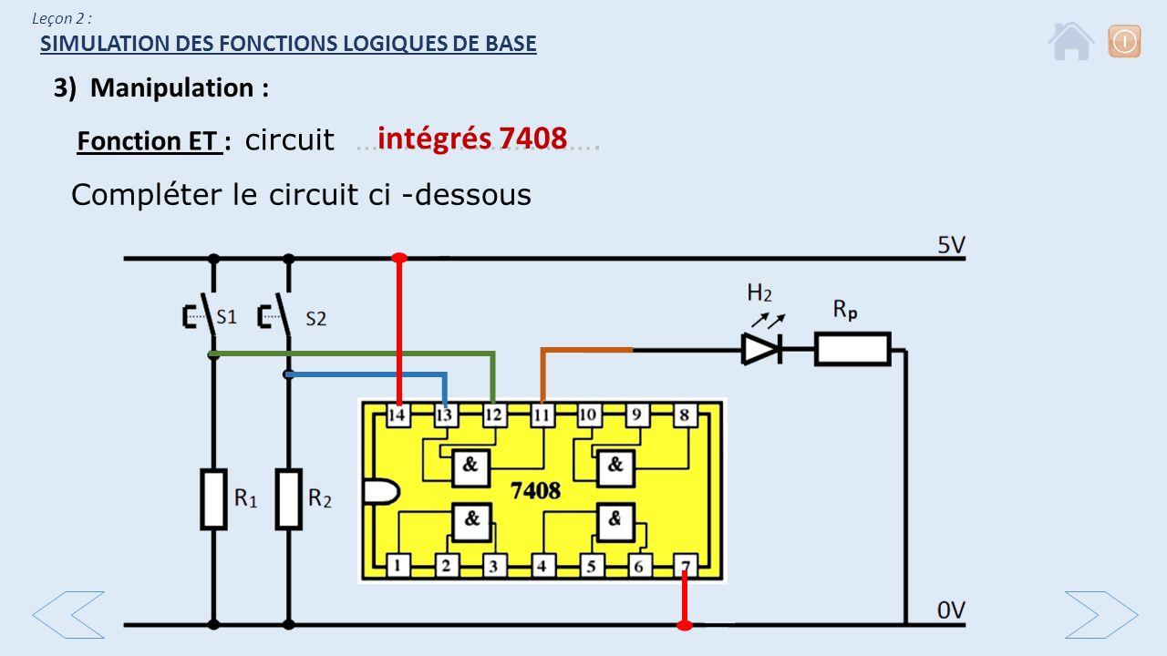 Simulation des fonctions logiques de base ppt video for Fonction logique et