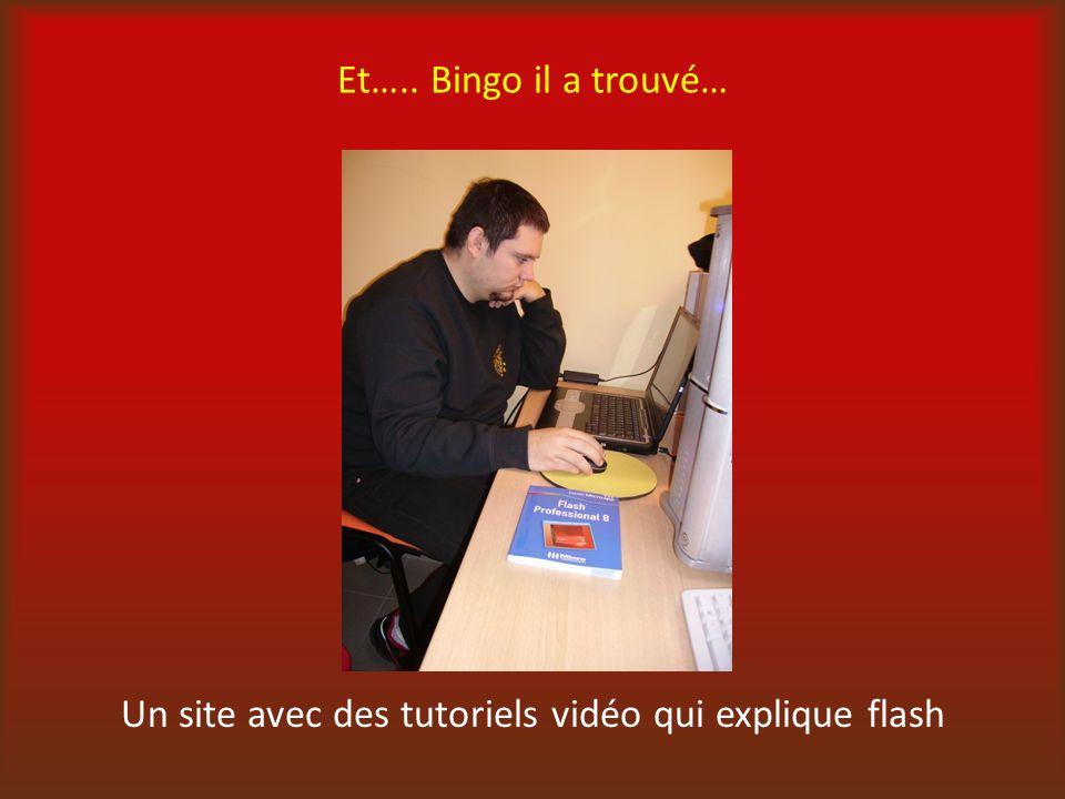 Un site avec des tutoriels vidéo qui explique flash