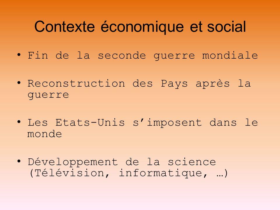 Contexte économique et social