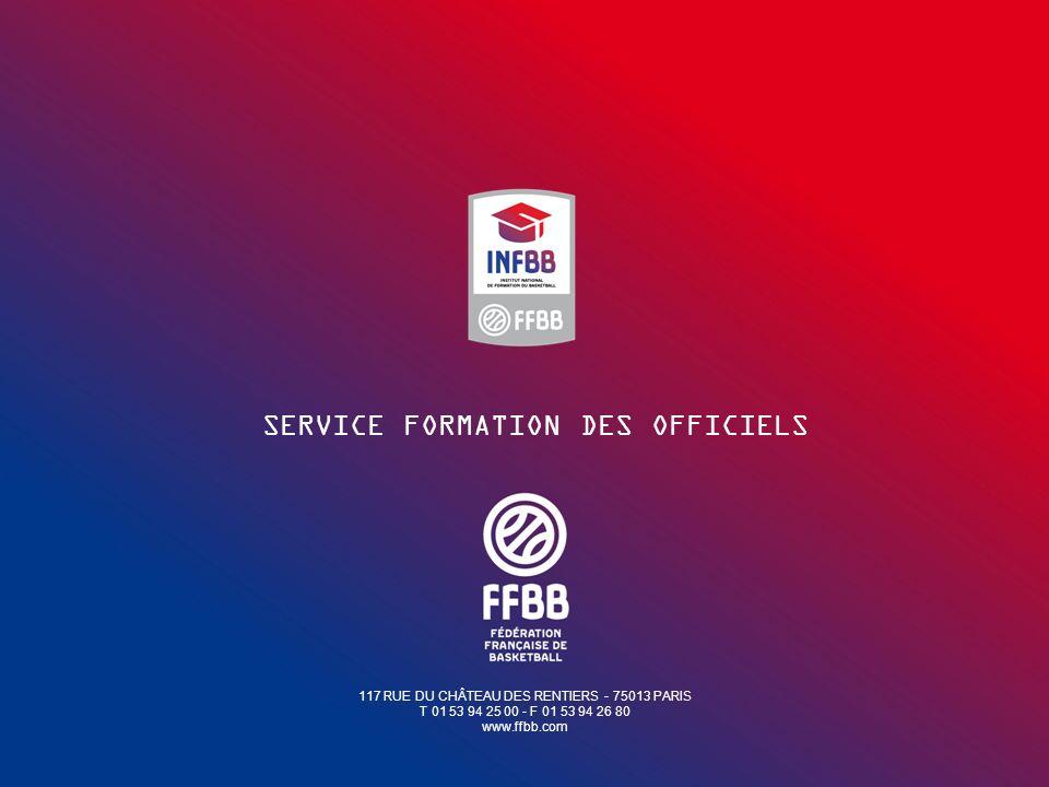 SERVICE FORMATION DES OFFICIELS