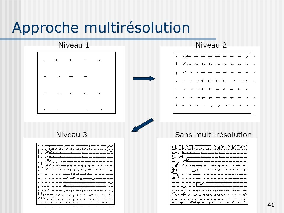 Approche multirésolution