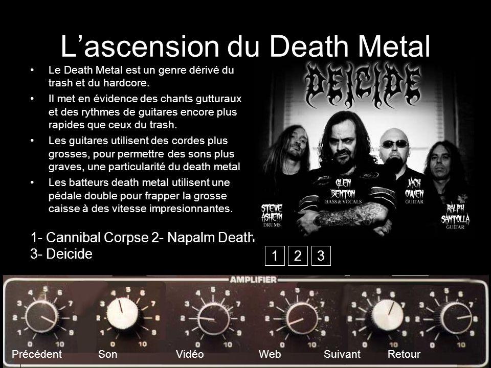L'ascension du Death Metal