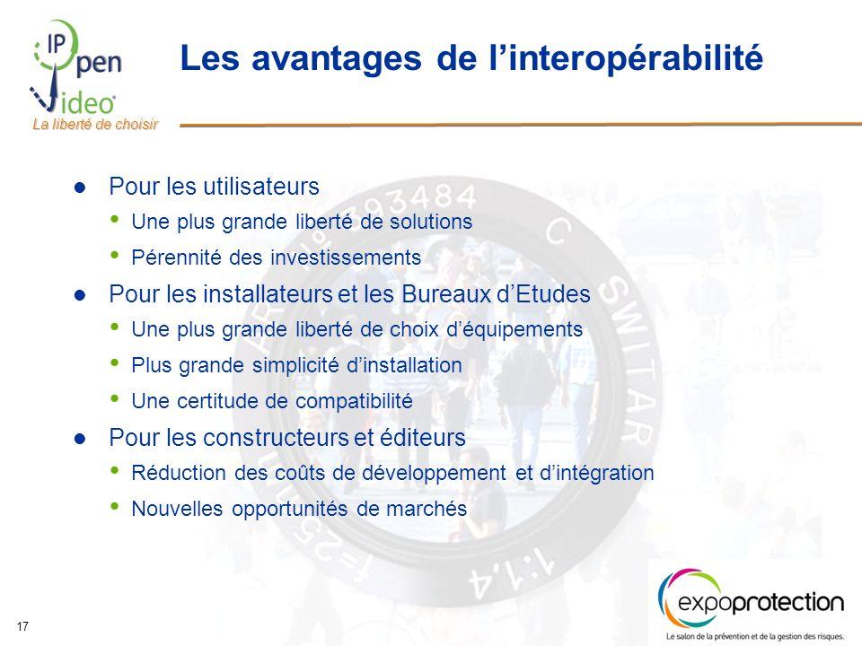 Les avantages de l'interopérabilité
