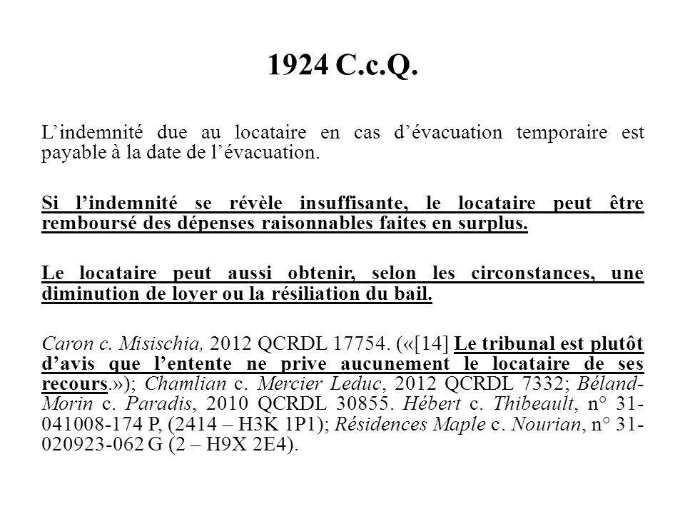 1924 C.c.Q.
