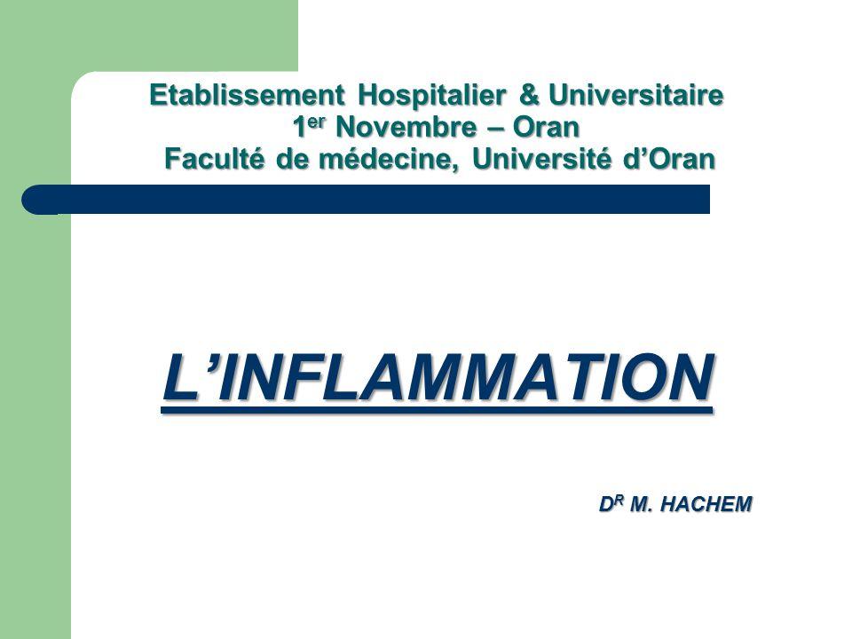 Etablissement Hospitalier & Universitaire 1er Novembre – Oran Faculté de médecine, Université d'Oran