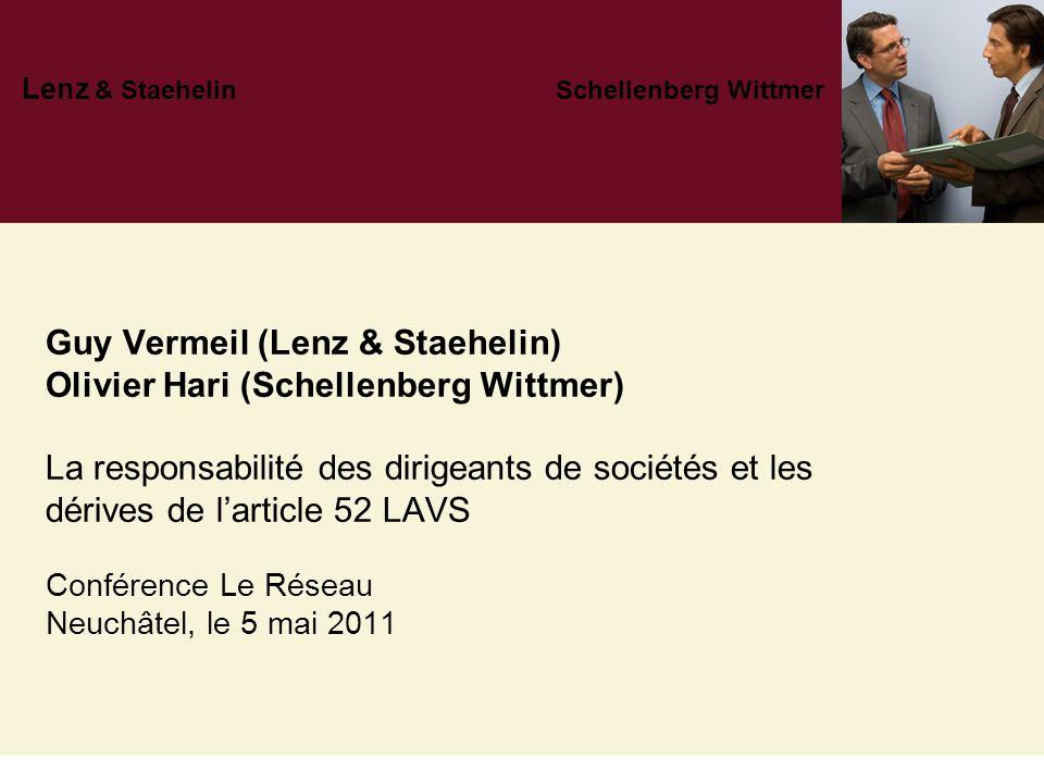 Lenz & Staehelin Schellenberg Wittmer