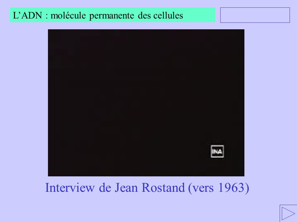 Interview de Jean Rostand (vers 1963)