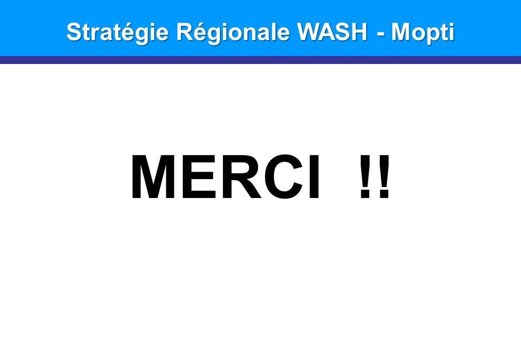 Stratégie Régionale WASH - Mopti