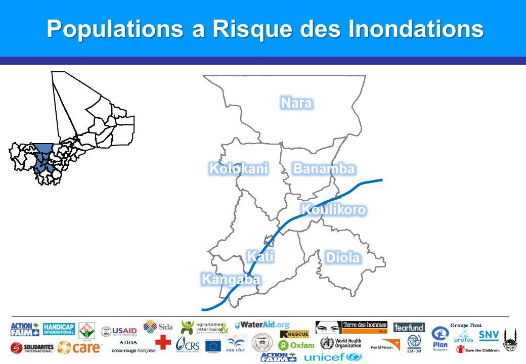 Populations a Risque des Inondations
