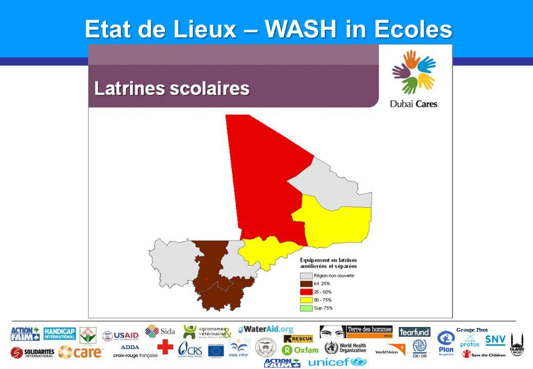 Etat de Lieux – WASH in Ecoles
