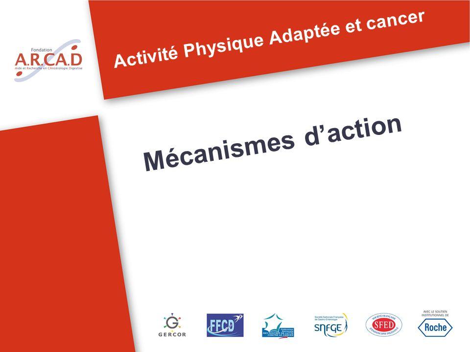 Activité Physique Adaptée et cancer