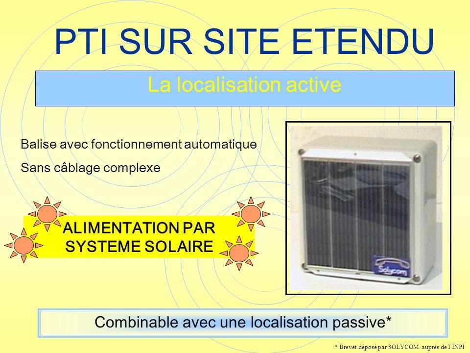 ALIMENTATION PAR SYSTEME SOLAIRE