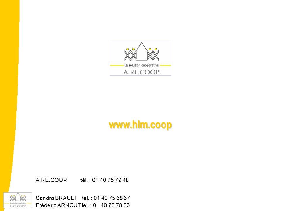 www.hlm.coop A.RE.COOP. tél. : 01 40 75 79 48