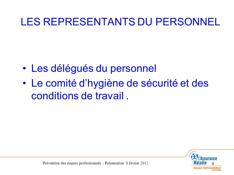 pr vention des risques professionnels ppt video online