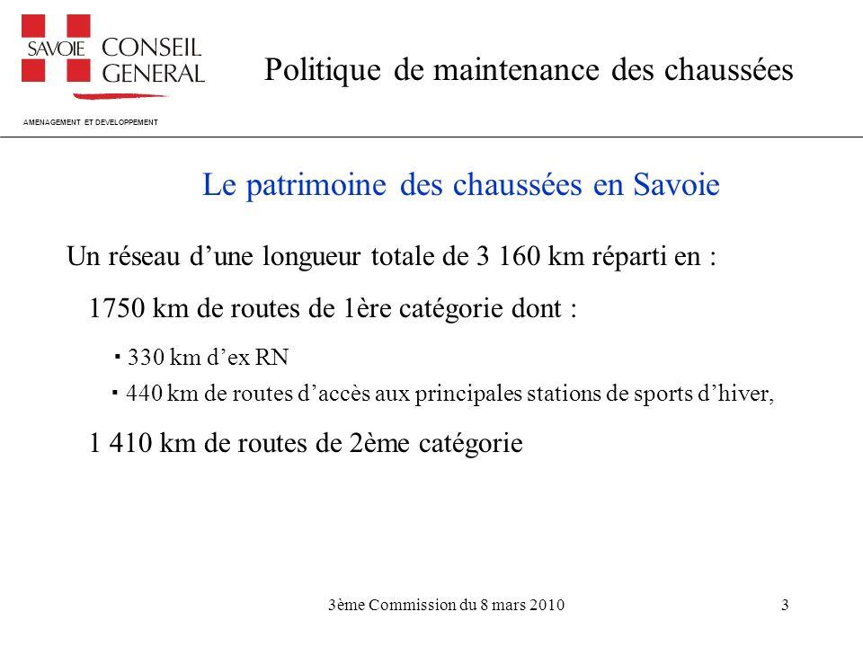 Le patrimoine des chaussées en Savoie