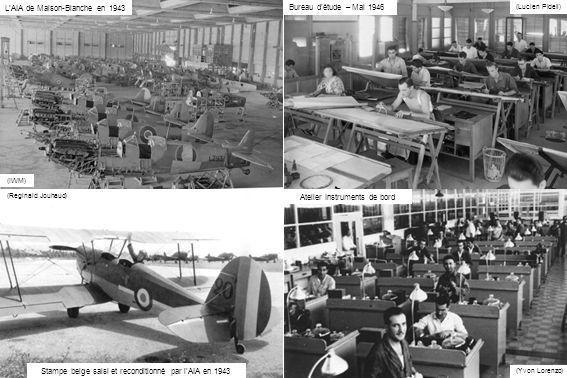 L'AIA de Maison-Blanche en 1943 Bureau d'étude – Mai 1946