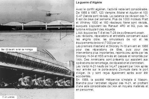 L'AIA équipe les T-6 et les T-28 de pylônes anti-crash.